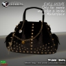 Punk mesh bag exclusive gift