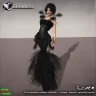 ECATE - AD Creations exclusive mesh goth dress for SAVIAD spring fashion fair