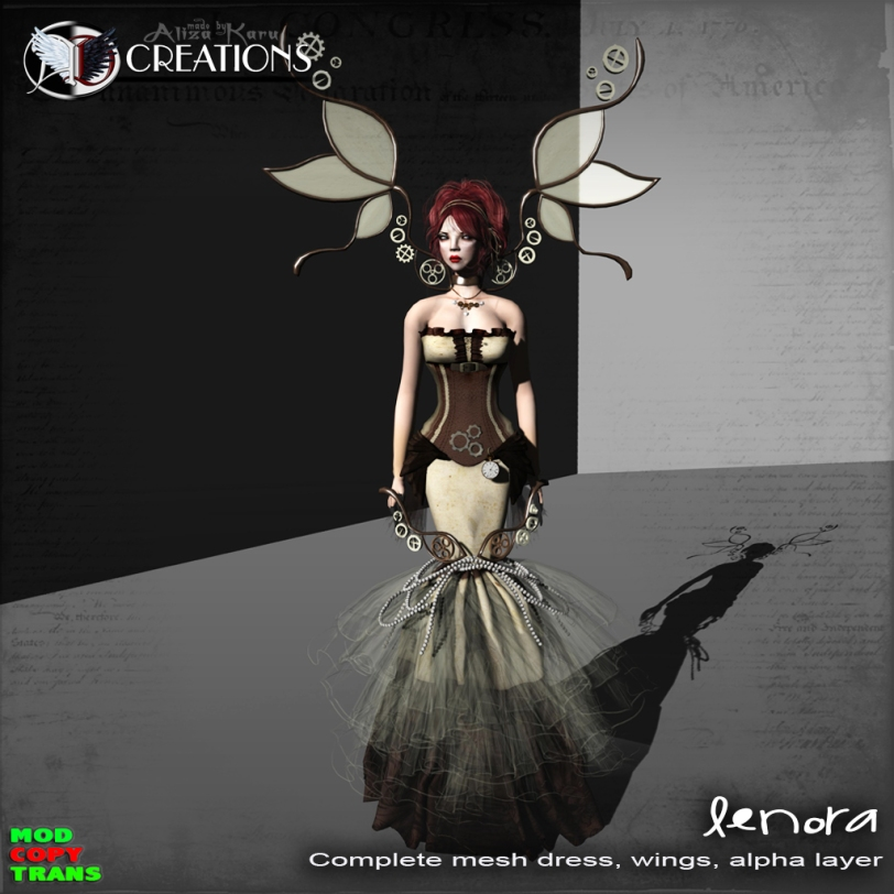Lenora - Steampunk new in shop